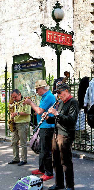 Street Musicians. Paris, FRANCE