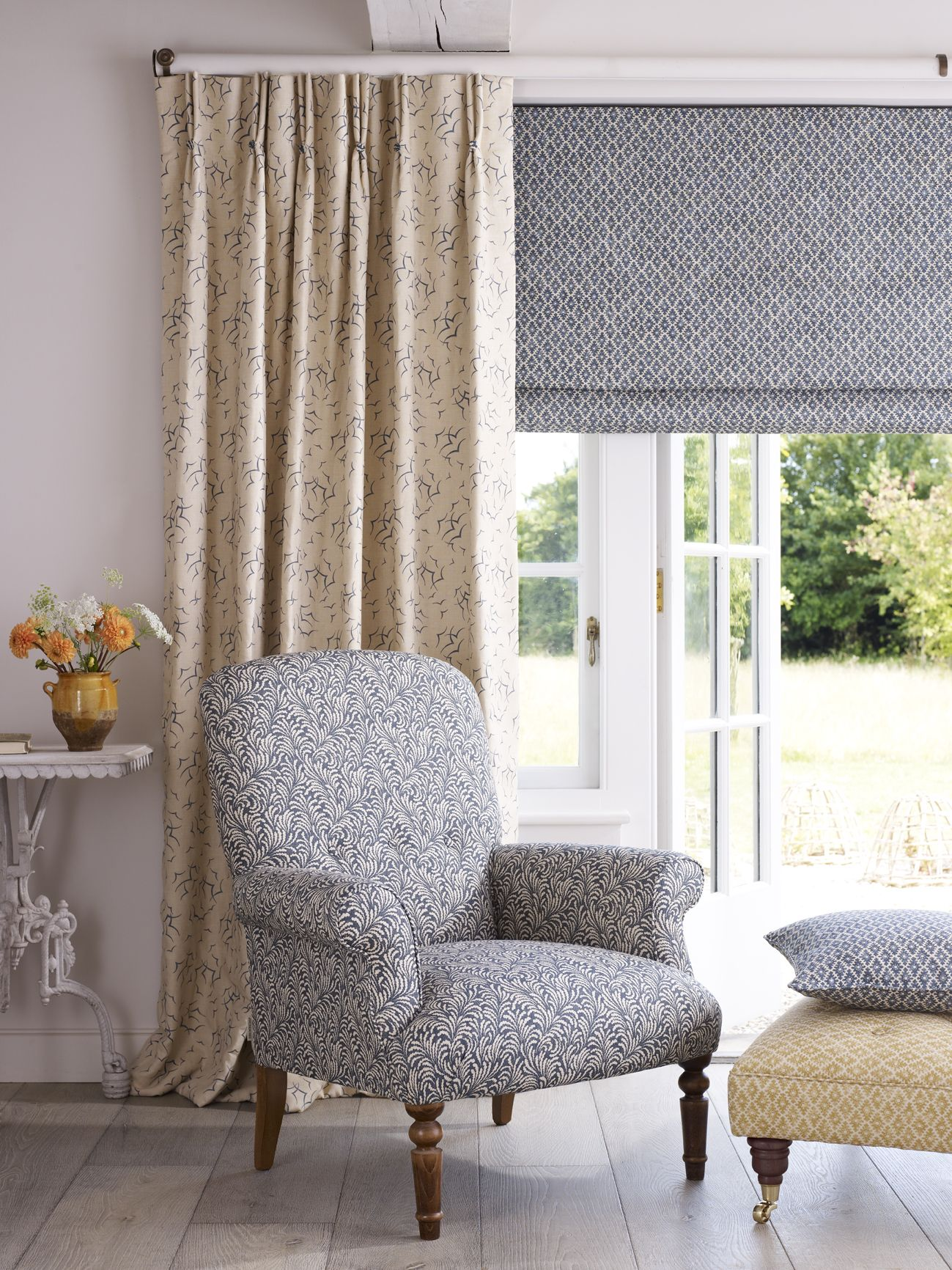 4 window curtain ideas  the whitewood range has a real crisp fresh feel to it imagine an