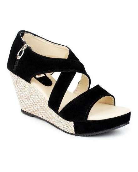 1615fb2cb Buy Kanchan Women's Wedges Sandal online shopping India   Sandals   best  price 499.00