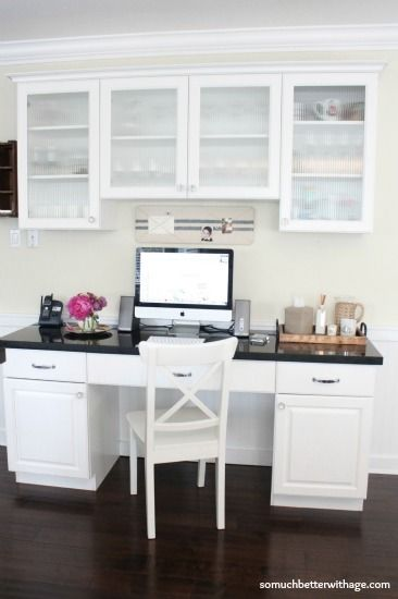 kitchen office wwwsomuchbetterwithagecom kitchen office cabinet. Idea Of How To Place An Office In Kitchen. Could Build This My Kitchen Wwwsomuchbetterwithagecom Cabinet H