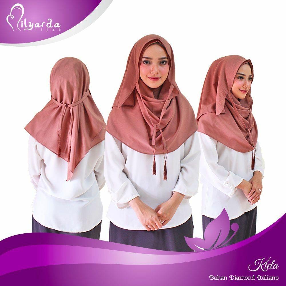 Nama hijab: Instan kiela Ini pashmina instan paling cantik & unik