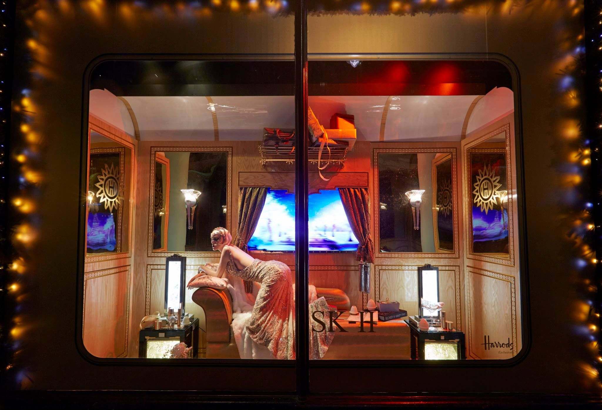 #AD361E Christmas Windows At Harrods Arrived At An Appropriate  6429 décoration noel harrods 2048x1396 px @ aertt.com