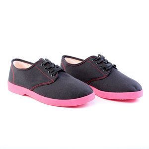Hopsack Oxford Shoe Women's, $24, now featured on Fab.