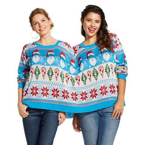 Umm... seriously Target? You're making sweaters for conjoined ...