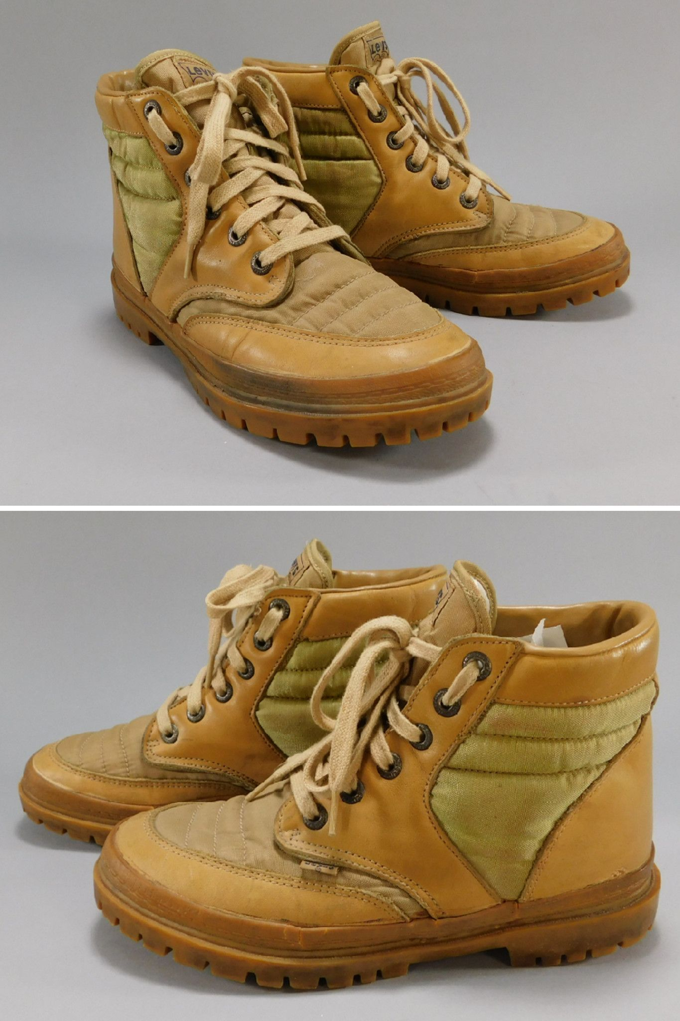 1970s - Early 1980s Vintage Levi s Boots   Shoes Lug Sole Hiking Boots fa5cc5680