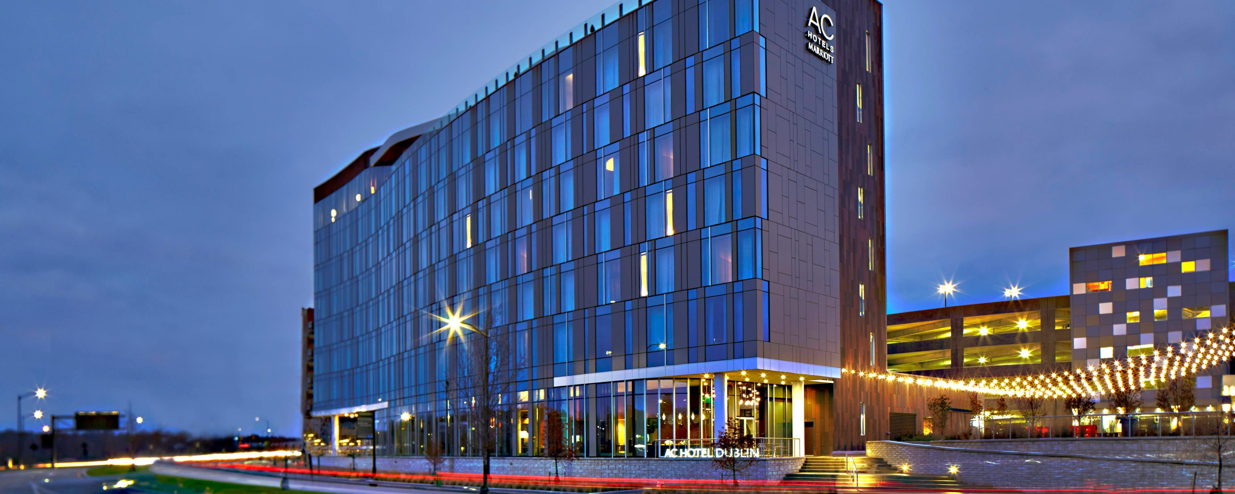 Experience The Modern Style And Business Friendly Amenities Of Ac