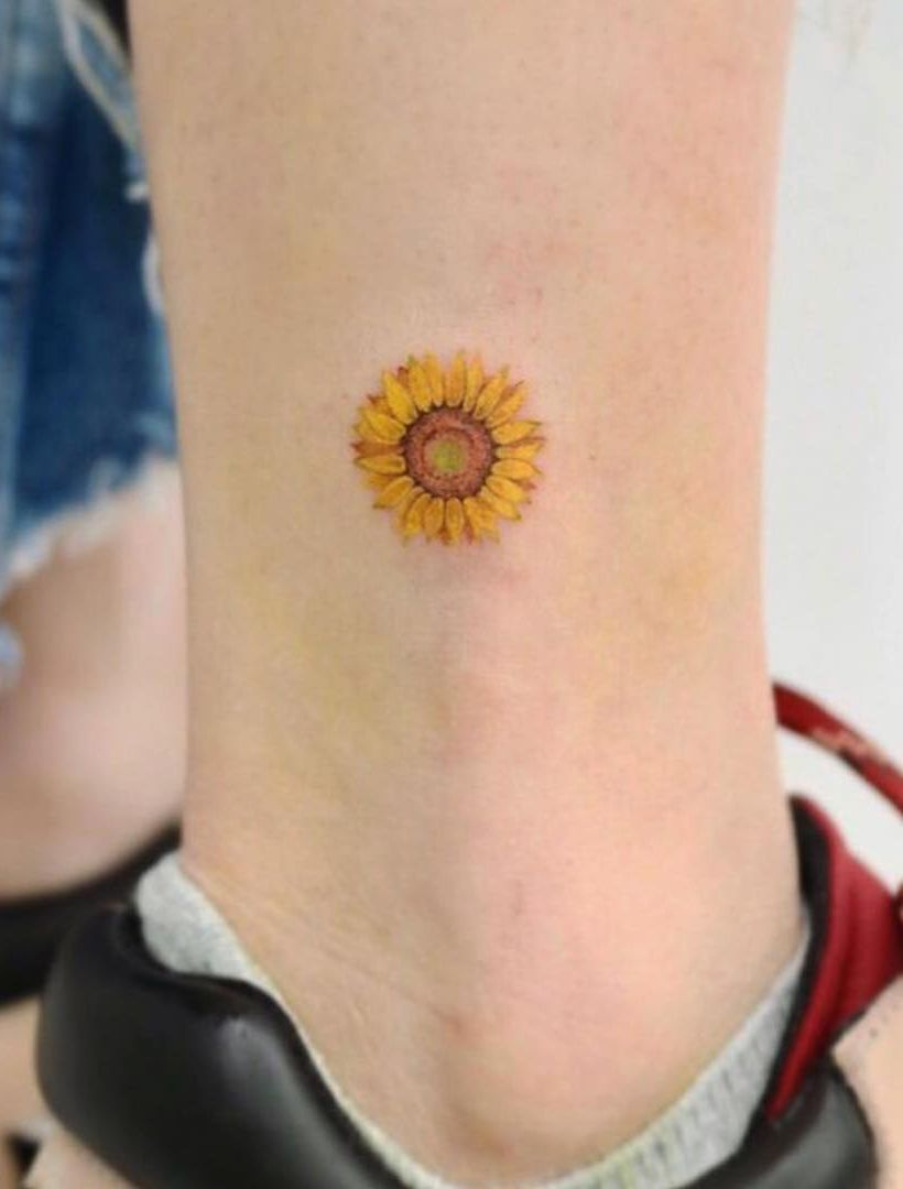 Photo of Celebrate the Beauty of Nature with these Inspirational Sunflower Tattoos Sunflo…