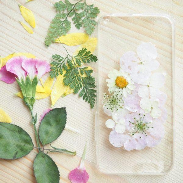 The Dream Of Flowers (handmade pressed flower phone case)
