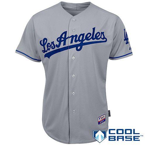 huge discount 0a7c2 e6865 Los Angeles Dodgers Authentic Road Jersey - MLB.com Shop ...