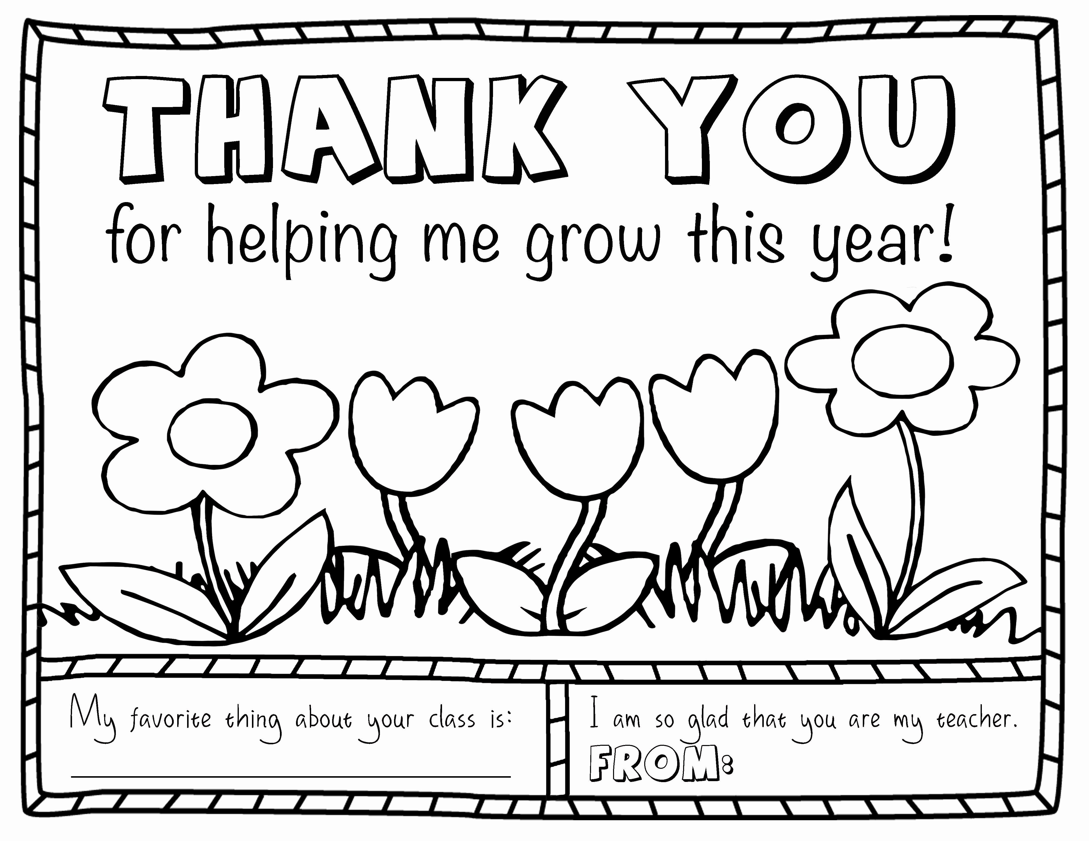 Teacher Appreciation Week Printables Awesome Thank You Coloring