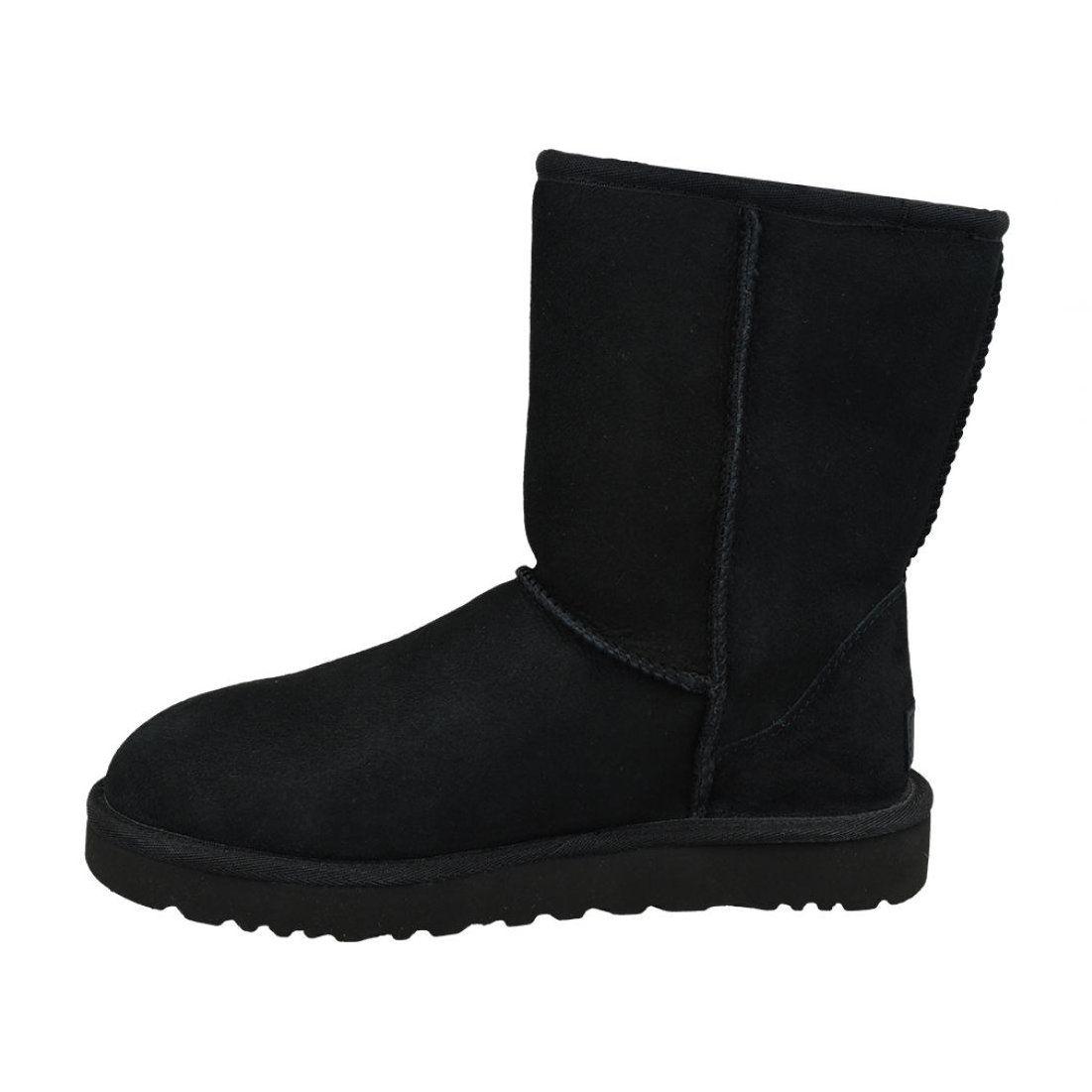 Ugg Classic Short Ii Shoes W 1016223 Blk Black Uggs Ugg Classic Ugg Classic Short