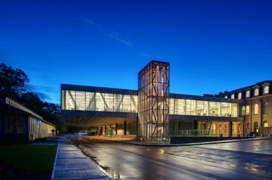 EDUCATIONAL ARCHITECTURE: Milstein Hall At Cornell University, Ithaca, New  York