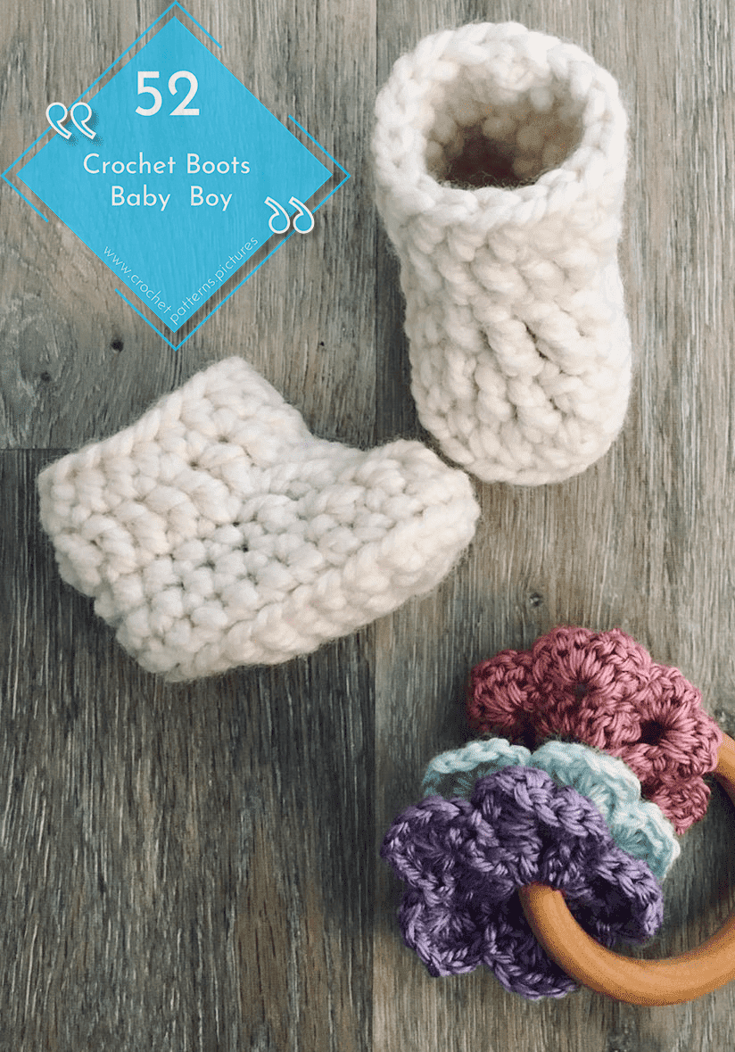 Photo of 52 Crochet Boots With Modern Patterns For Baby Boys. Advice Model: 37