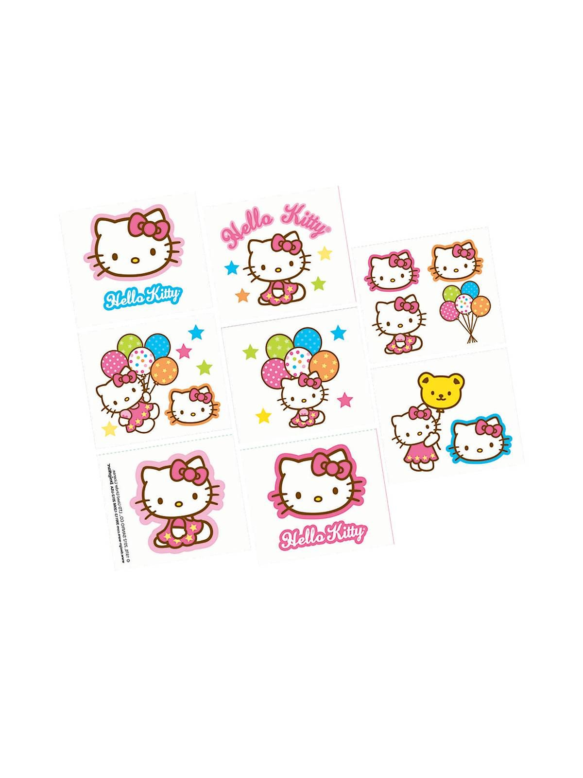 Bargain Party Decorations Hello Kitty Tattoos Bargain Party Decorations And Accessories