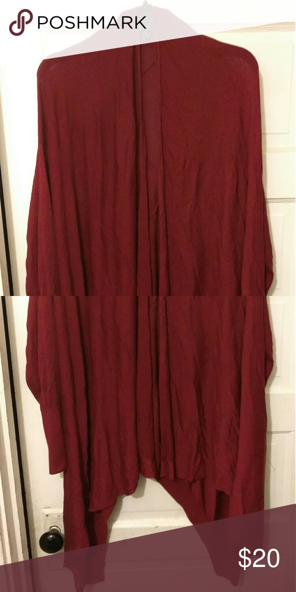 Long rasberry jacket Very classic every body has one and wants more this color is for this season jcpenney Jackets & Coats Capes