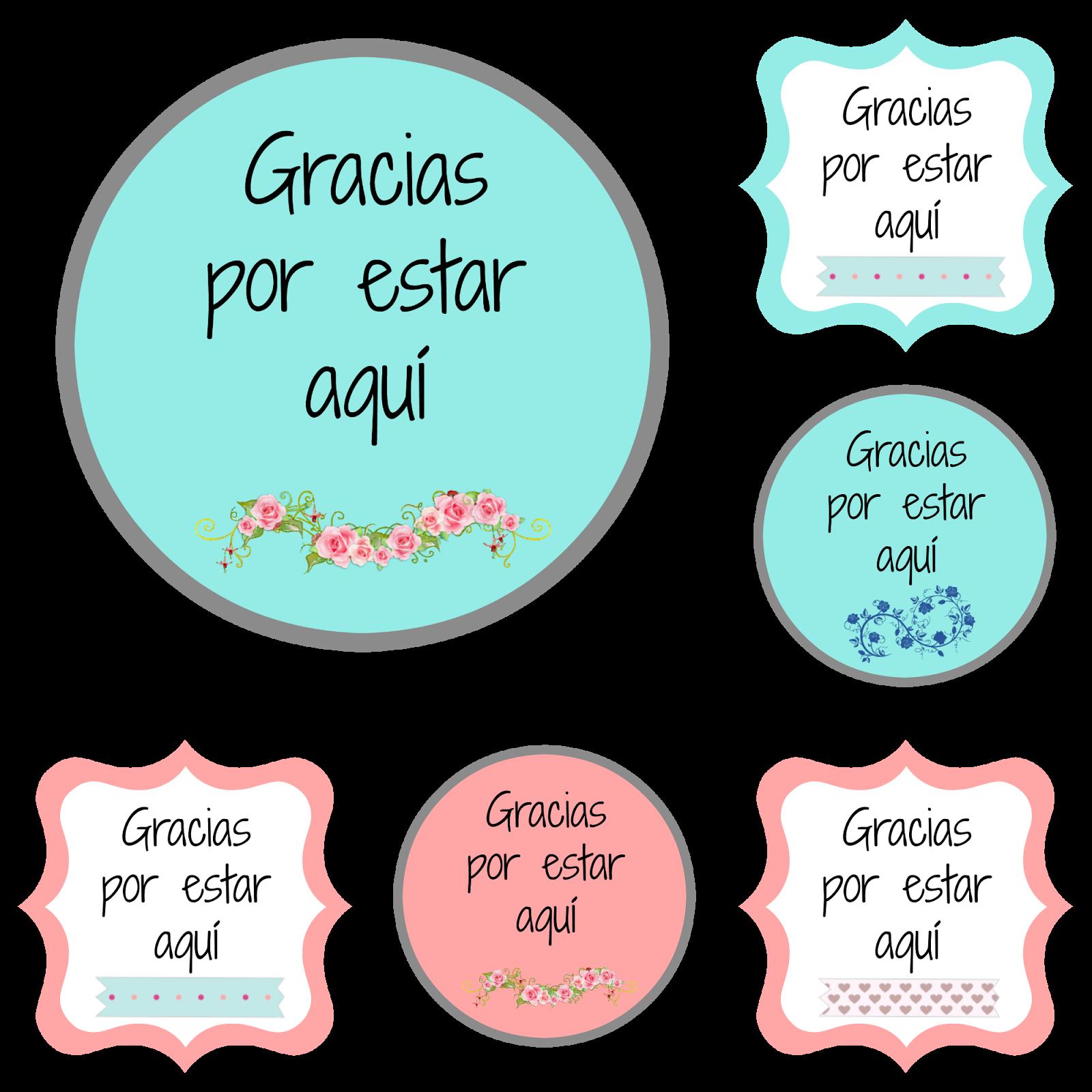 Etiquetas de agradecimiento | Manualidades de boda | Pinterest