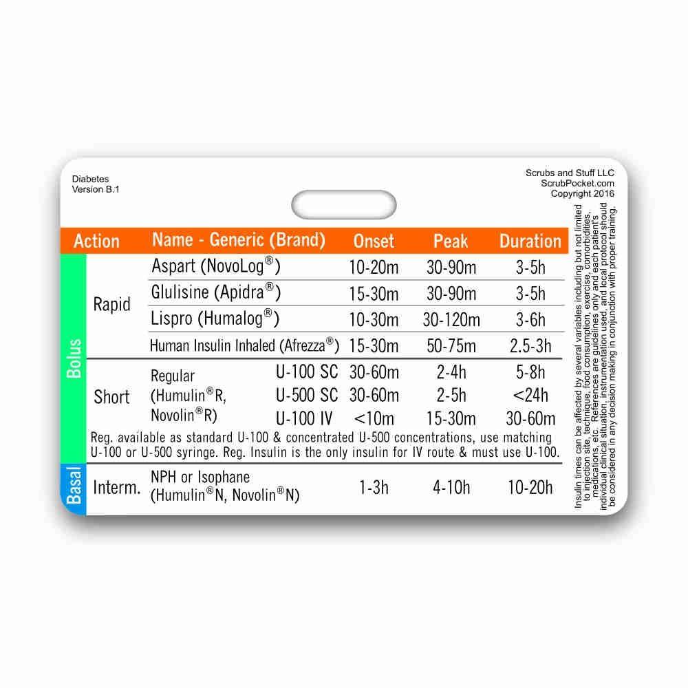insulin horizontal badge card nursing pinterest badge cards