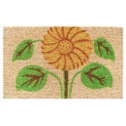 Sunflower Welcome Mat