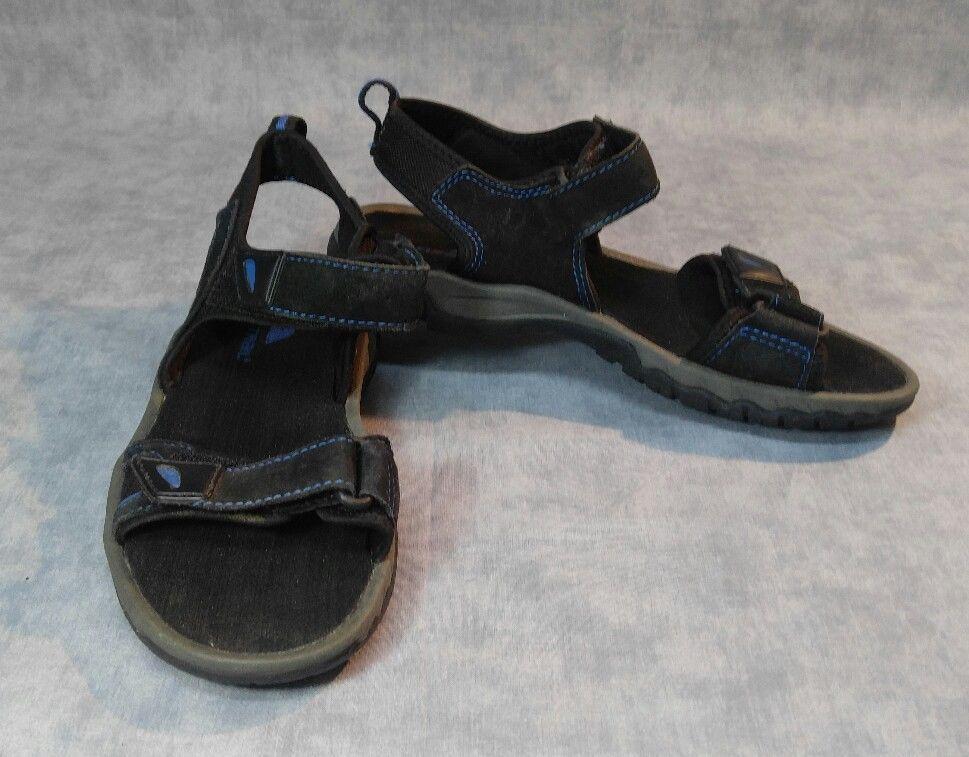 18fa43065010 Ozark Trail Black Blue Men s Sandals Size US 7 Strap Adjustment Ankle   Toe