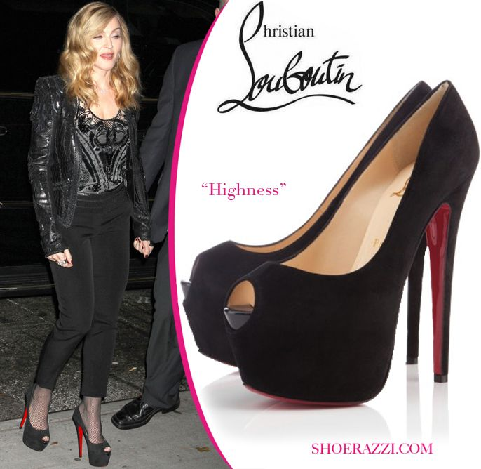 e9bd1e85eec Madonna's Louboutins | Celebrity shoes | Cheap christian louboutin ...