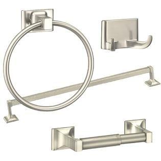 Home Improvement Brushed Nickel Bathroom Accessories Bathroom