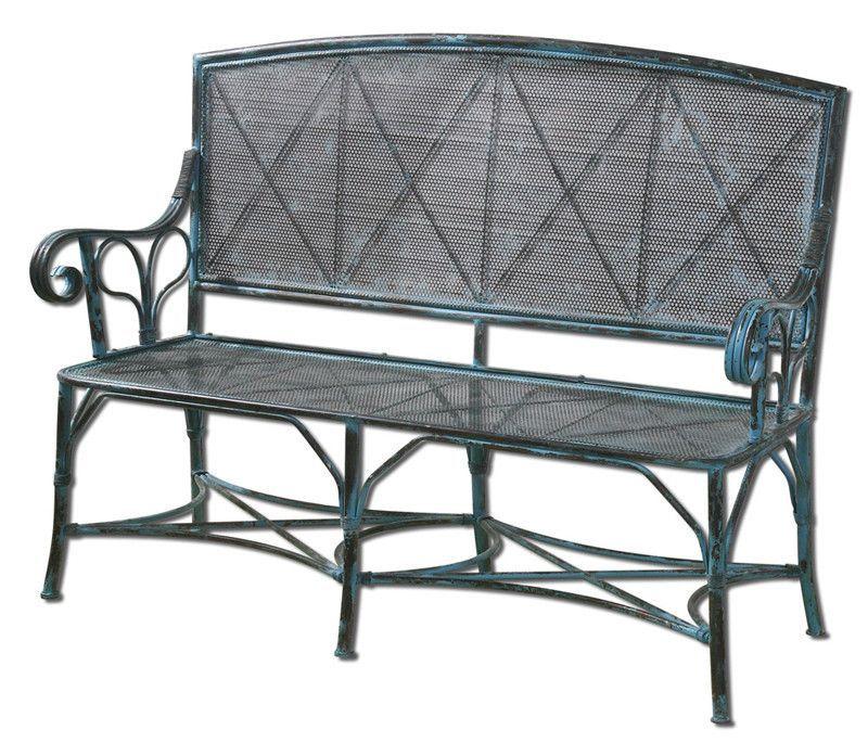 Uttermost 26126 Generosa Forged Iron Bench