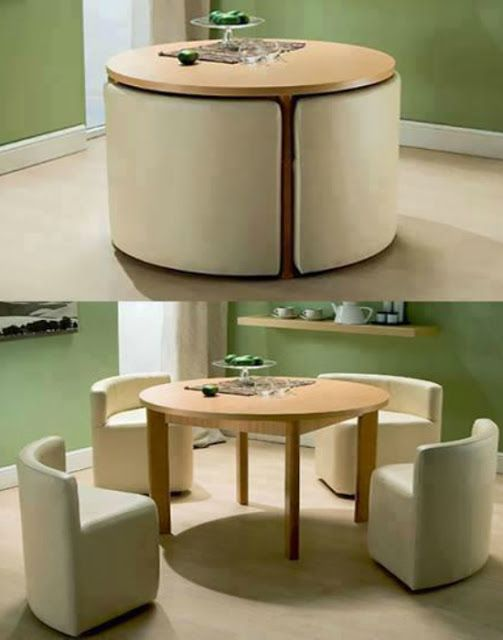 Multi Purpose Convertible Furnitures For Small Spaces