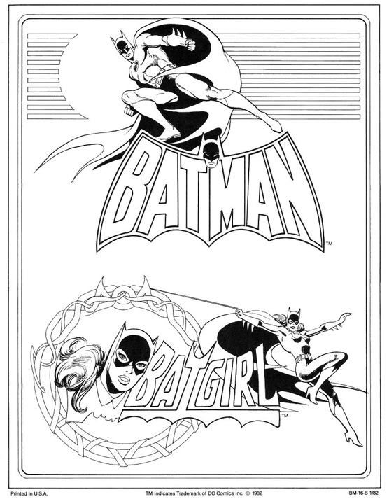 Batman & Batgirl by José Luis García-López from the 1982