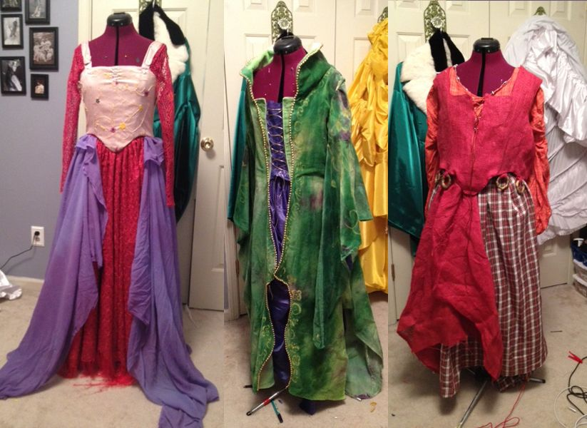 Easy to make plus size halloween costumes for Plus size hocus pocus shirt