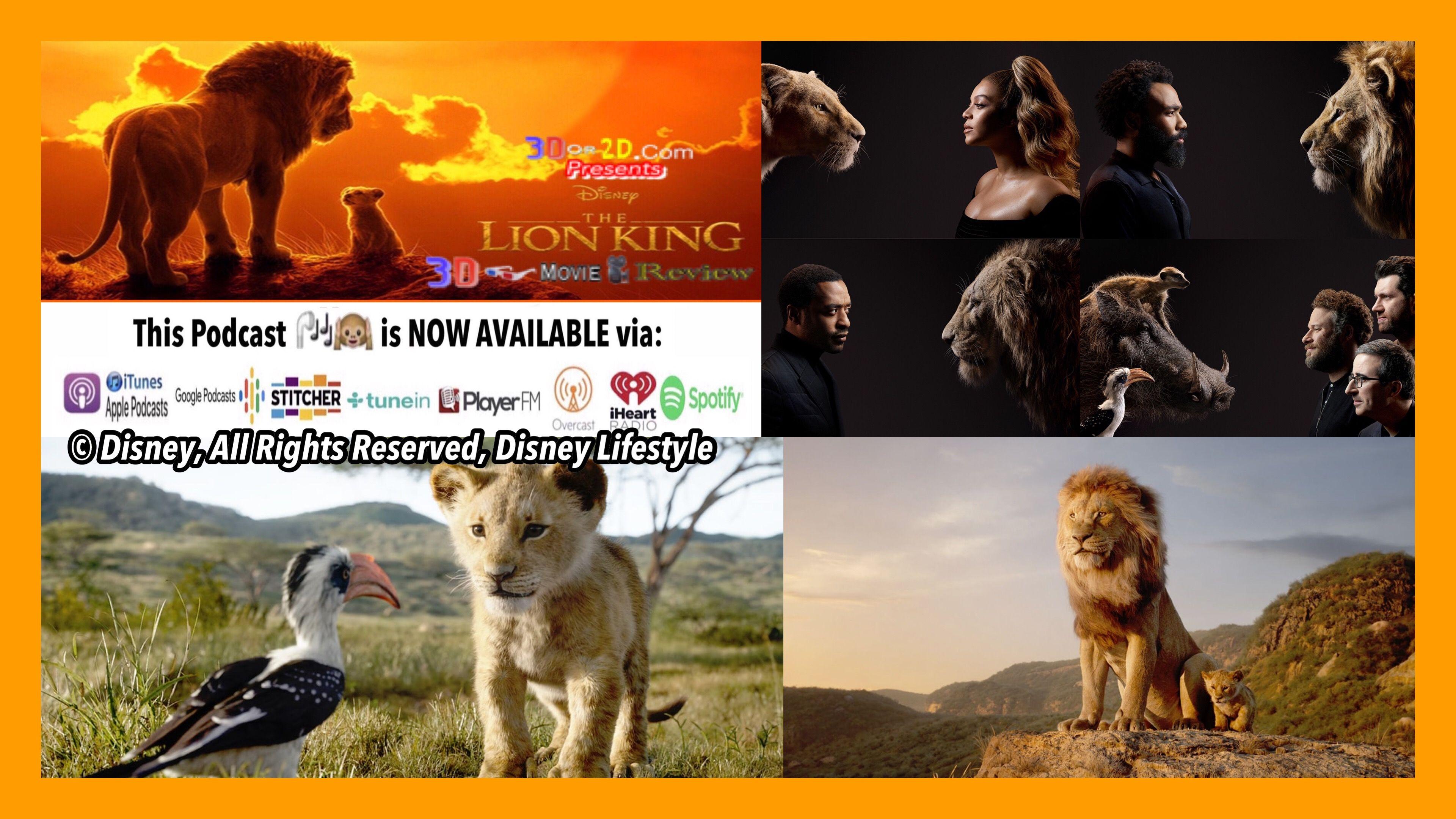 The Lion King 2019 3d Film Review 3d Movies Lion King