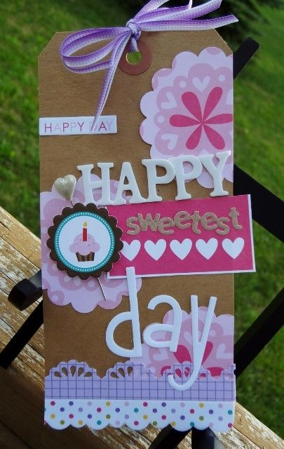 17 Best Images About Scrapbook Tags On Pinterest Gift Tags