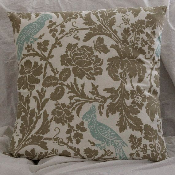 Grey and blue Pillows