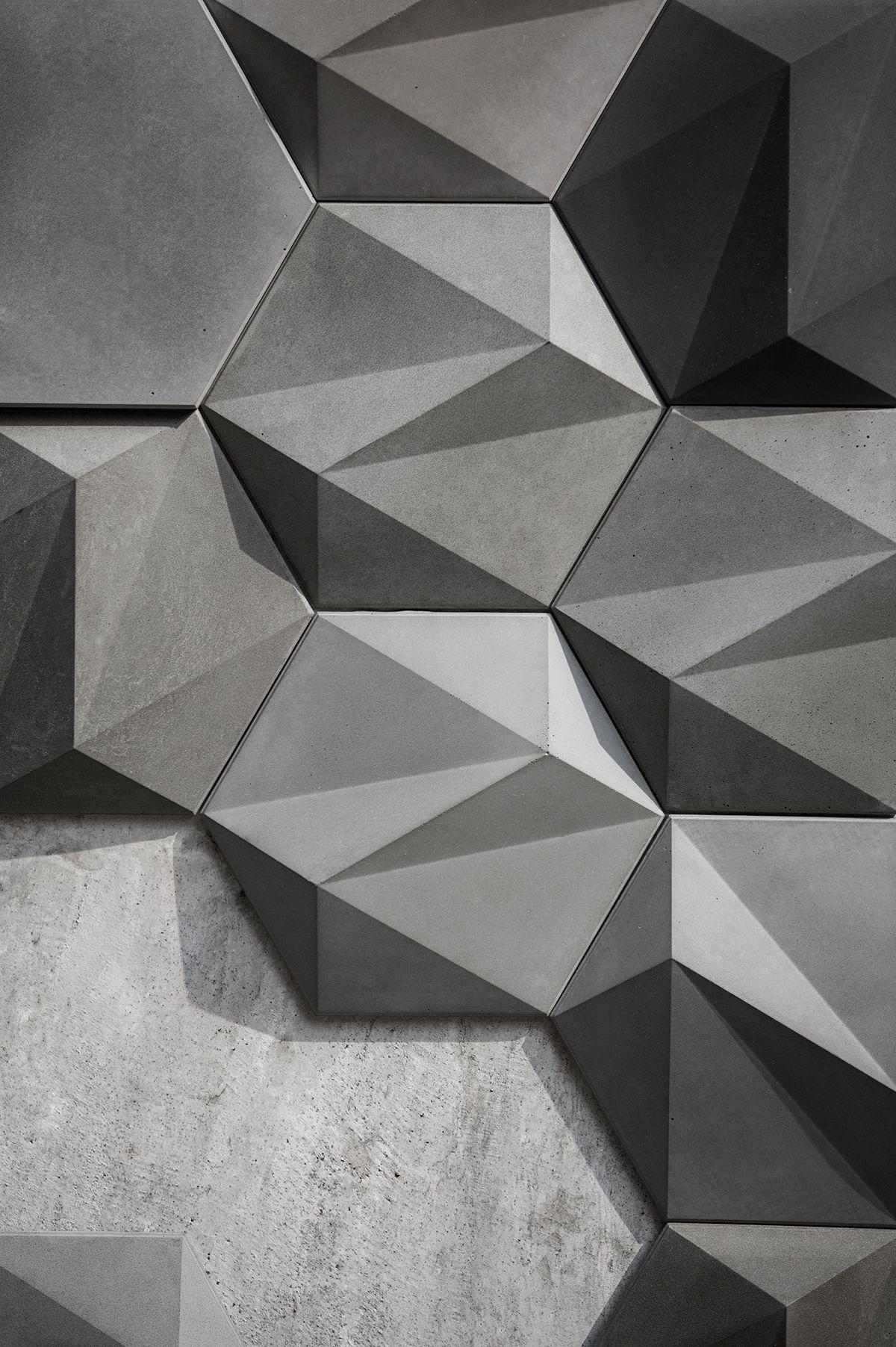 concrete wall decoration san on behance texture
