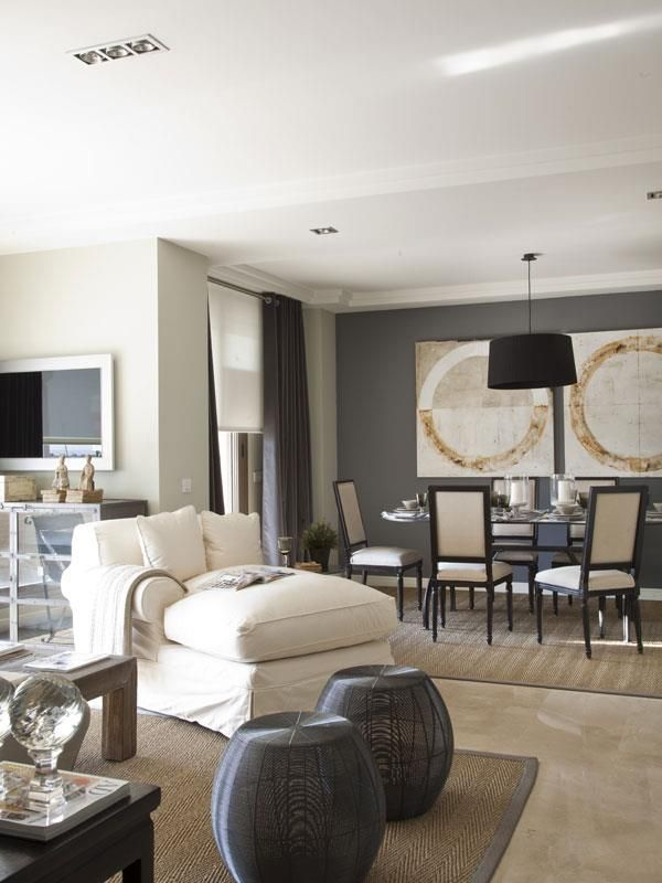 Model apartment by becara madrid living rooms dise o - Decoracion interiores madrid ...