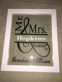 Super wedding gifts cricut vinyl projects 56 Ideas #cricutvinylprojects