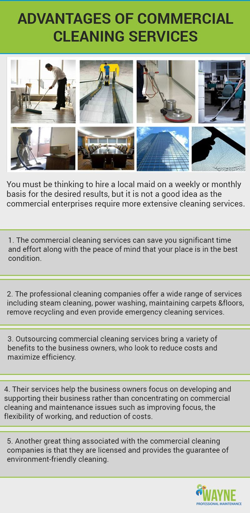 Know The Need To Hire Commercial Cleaning Services With Images