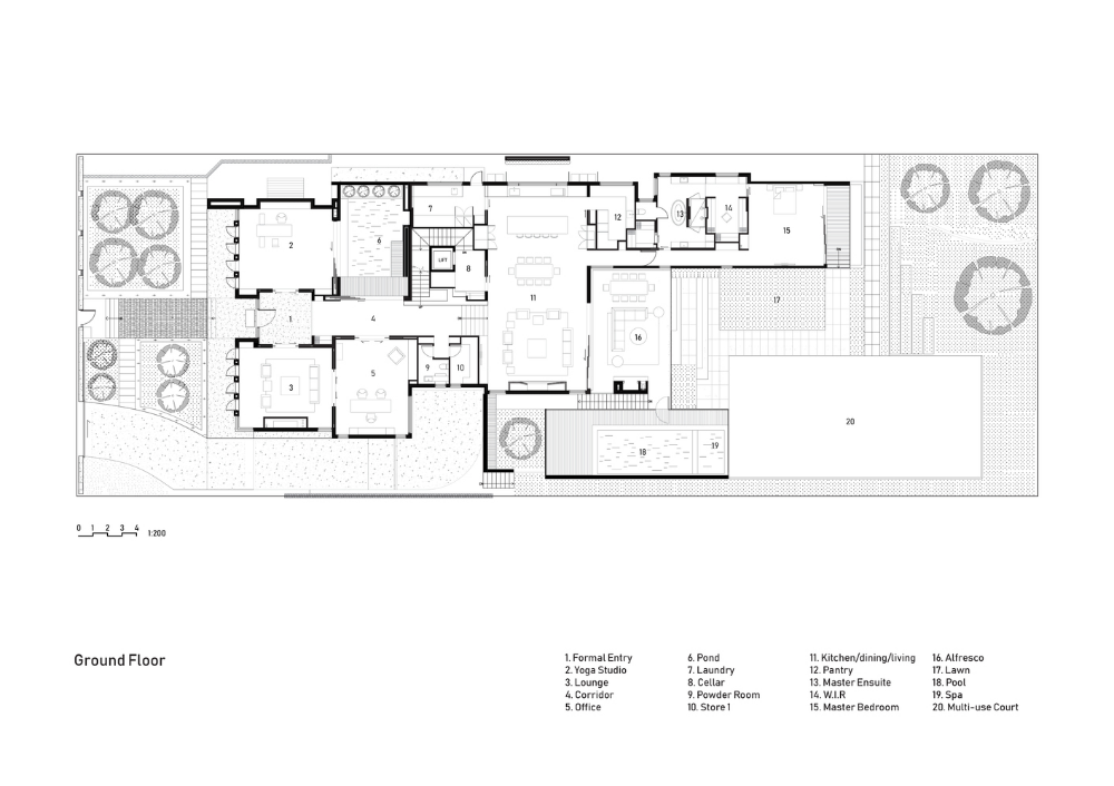 Gallery Of The J House Wolf Architects 20 Luxury House Plans Architect Floor Plans