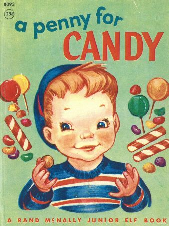 vintage candy sign