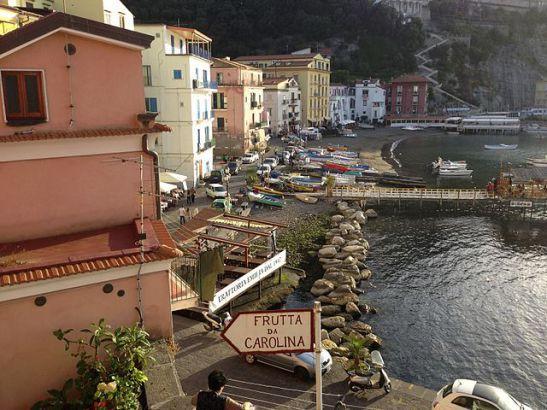 Marina Grande em Sorrento, foto de Cutiekatie