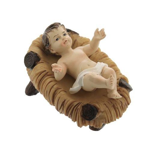 Baby Jesus In Crib Figure 3 Baby Jesus Catholic Accessories Warm Colour Palette