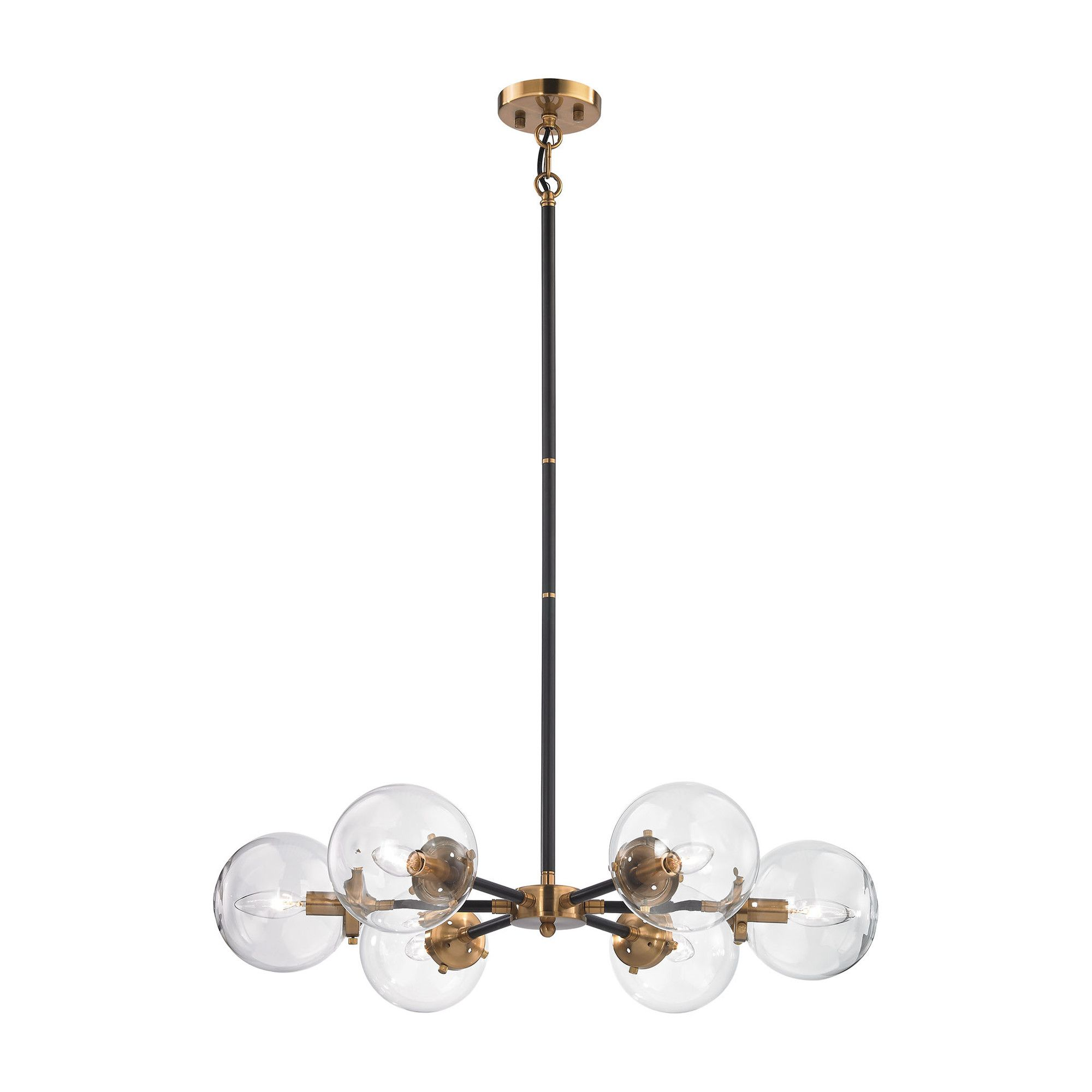 Grayslake 6 Light Sputnik Chandelier & Reviews