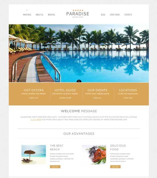 free-hotel-travel-wordpress-theme | Free WordPress Themes ...