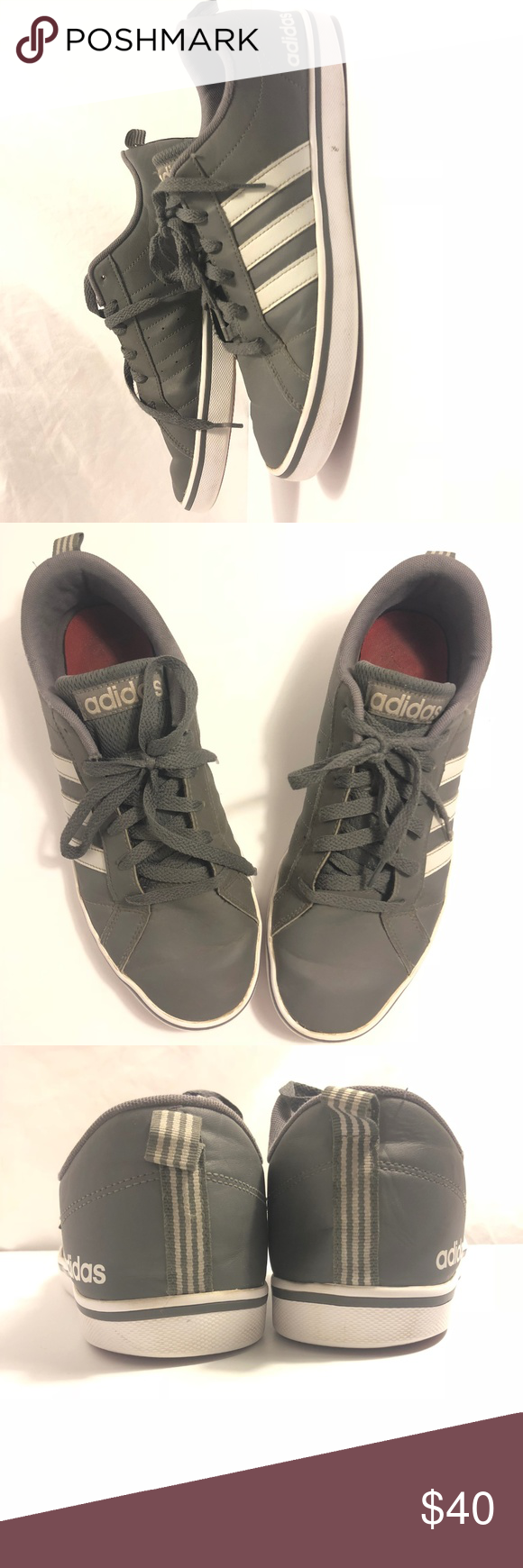 adidas neo vs space gris