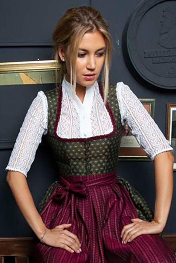 Photo of Alpenherz dirndl blouse Johanna fine