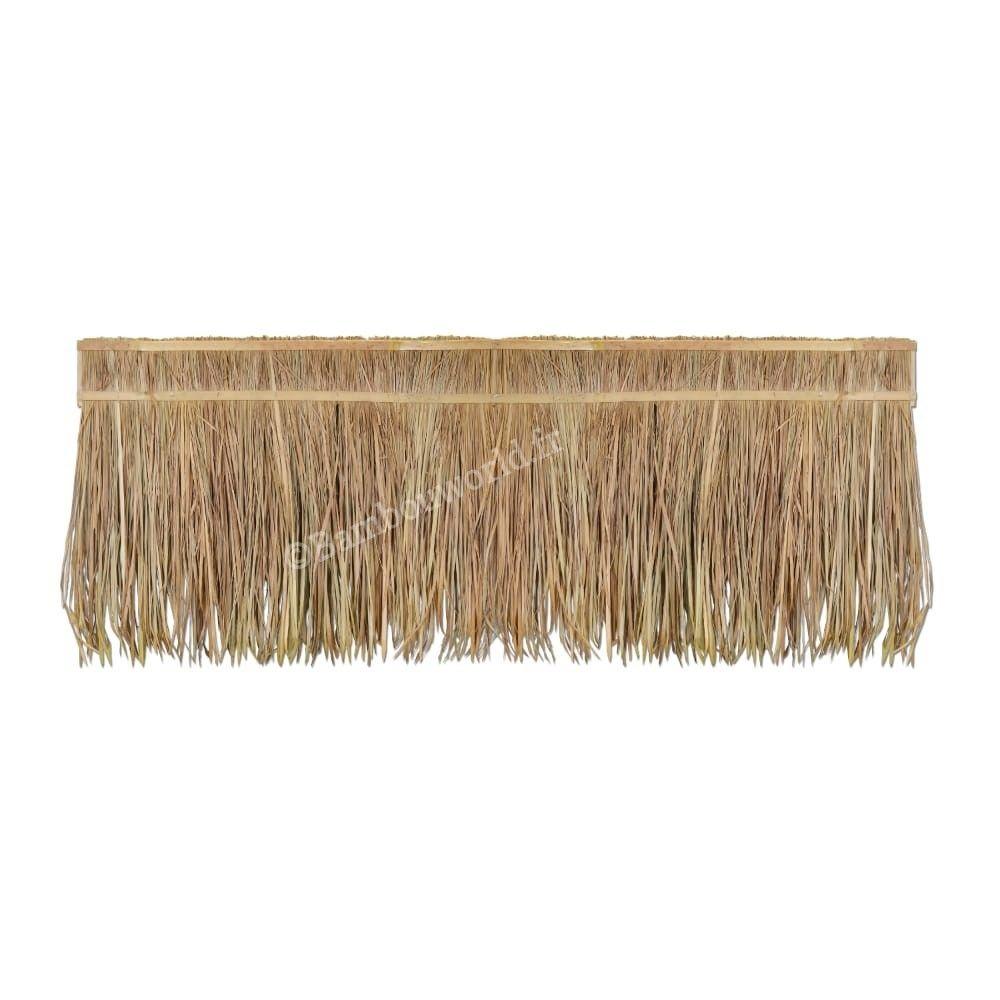 Paille Sur Baton En Bambou 200cm Fabriquee A Partir De Feuilles De Palmes Seche Pour Creation De Toit De Pergola Ou Abri Toit De Chaume Feuille Palmier Bambou