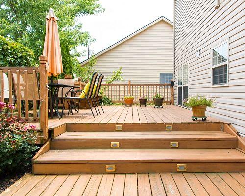 Clark Com Advice You Can Trust Money In Your Pocket Wooden Deck Designs Outdoor Deck Lighting Deck Design