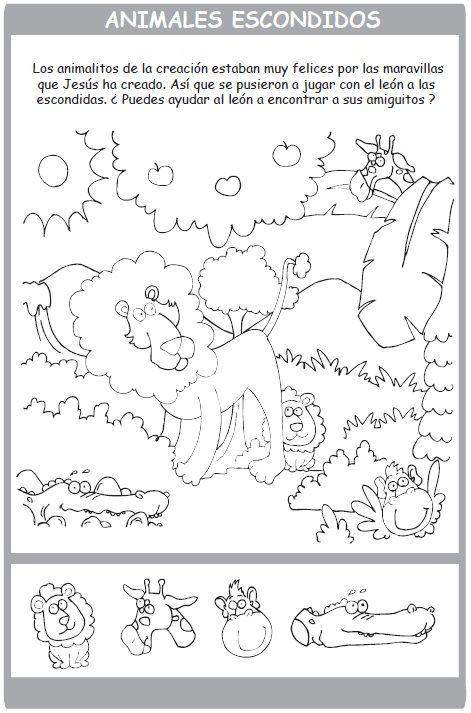 Libros Cristianos Infantiles - Pintando con Noé - Libro de Coloreo y ...