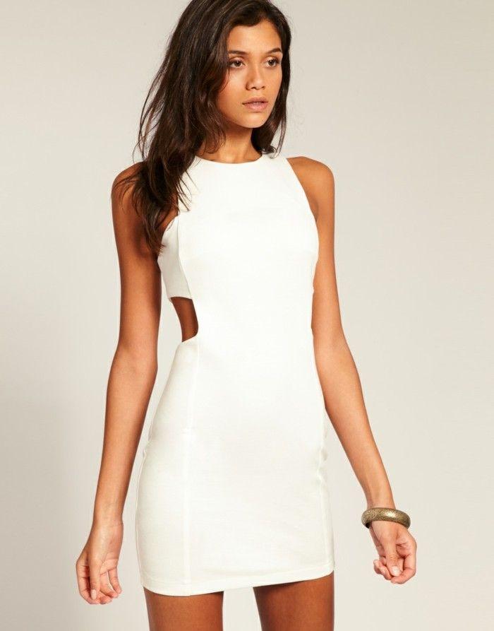 105 verblüffende Ideen für weißes Kleid! | Weiße lange ...