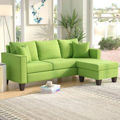 Peachy Zipcode Design Janna Reversible Sectional Products Creativecarmelina Interior Chair Design Creativecarmelinacom