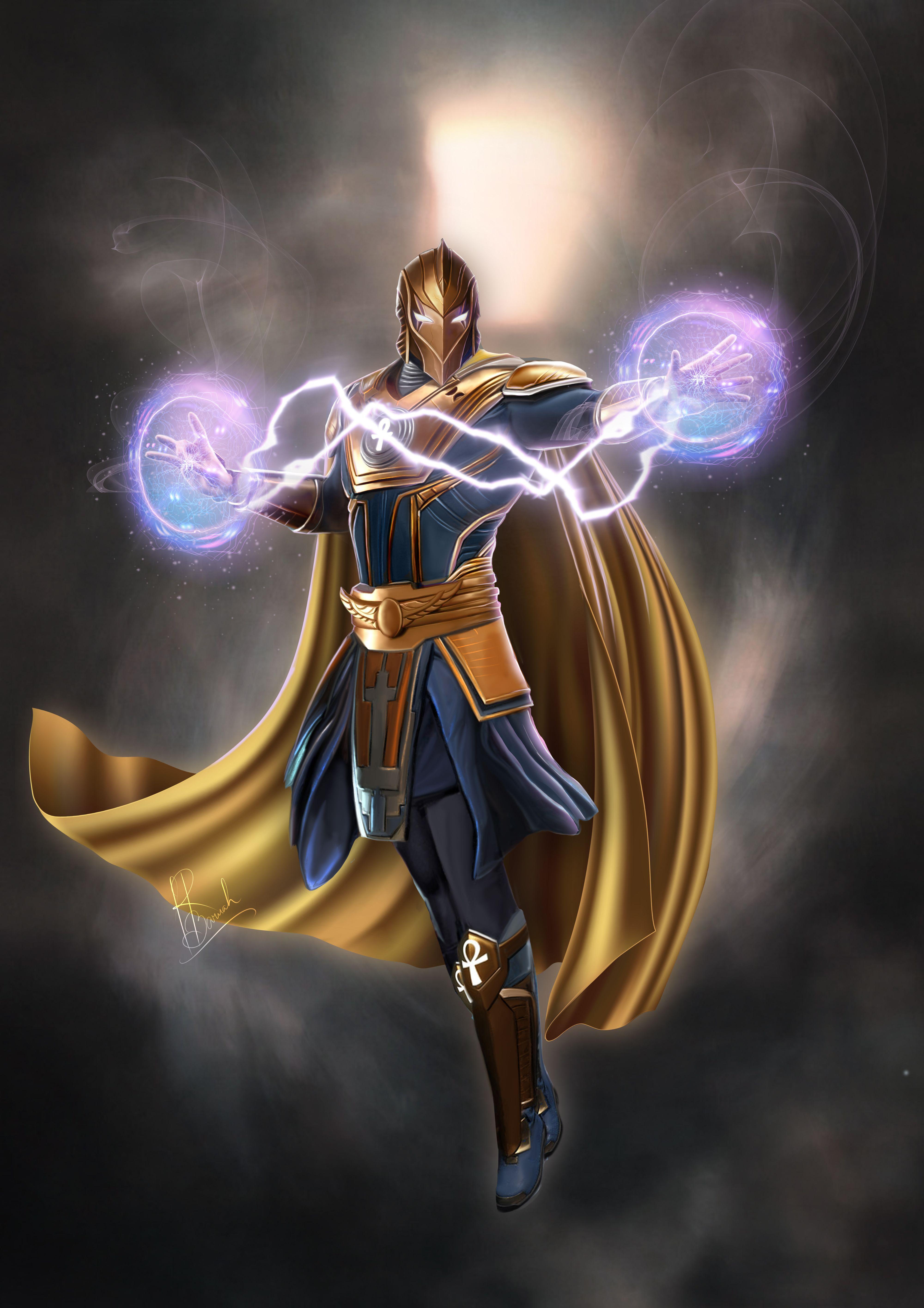 Doctor Fate Senhor Destino Senhor Destino Dc Super Heroi